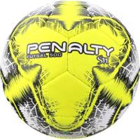 ce59553ab6868 Netshoes; Bola Futsal Penalty S11 500 R5 Lx - Unissex