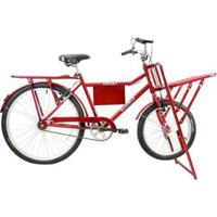 Bicicleta Mega Carga Aro 26 Quadro Aço Mega Bike - Unissex