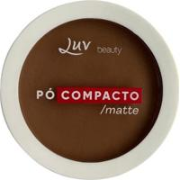 Pó Compacto Matte - Luv Beauty Brown - Unissex-Incolor