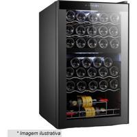 Adega Easycooler Dual Zone- Preta- 84X44X49Cm- 1M.Cassab