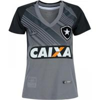 Camisa Topper Botafogo Goleiro Ii 2018 Feminina - Feminino