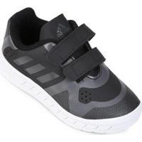 Tênis Infantil Adidas Quicksport Cf 2 C - Unissex-Preto