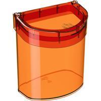 Lixeira Glass Para Pia- Laranja- - 2,7L- Cozcoza
