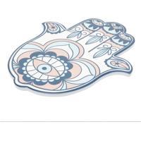 Descanso De Panela Hansa Hand Colorido 0,8X24,5X20