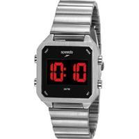 Relógio Speedo Digital Feminino - Feminino-Prata