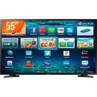 Smart Tv Samsung Led 55 Polegadas 4K Ultra Hd Hdr Com Conversor Digital Lh55Benelga/Zd