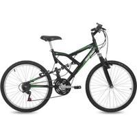 Bicicleta Aro 24 Q17 Full Suspensão 21V Big Rider Mormaii - Masculino