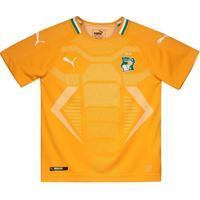 Camisa Puma Costa Do Marfim Home 2018 Juvenil