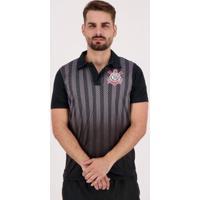 Camisa Polo Corinthians Dark Side Masculina - Masculino