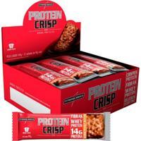 Barra Protéica Protein Crisp 540G 12 Unidades - Integralmédica - Unissex