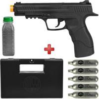 Pistola De Pressão Co2 Daisy 415 4.5Mm + Esferas De Aço Dispropil 4100Un. + 5 Cilindros Co2 + Maleta - Unissex