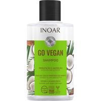 Shampoo Inoar Go Hidratação E Nutrição 300Ml - Unissex-Incolor