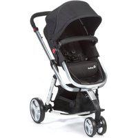 Carrinho De Bebê Mobi Safety 1St Black Silver