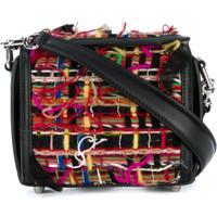 e05f0d35cb Farfetch  Alexander Mcqueen Bolsa Tiracolo  Box Bag 16  - Estampado