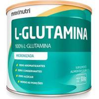 Aminoácido L-Glutamina Maxinutri Suplemento Pó 300G 100% Pura - Unissex