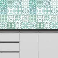 Adesivo Azulejos Turqueses (15X15Cm)