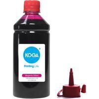 Tinta Para Epson Bulk Ink L210 Magenta 500Ml Corante Koga