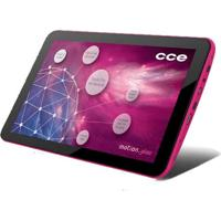 "Tablet Cce Motion Tab T733 Rosa - Tela De 7"" - Bluetooth - Wi-Fi - Câmera 2Mp - Android 4.0"