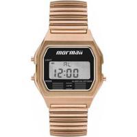 Relógio Mormaii Feminino Retro Rose Mojh02Ax/4J - Feminino-Dourado