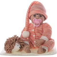 Boneca Laura Baby Miguel - Castanho- 39X16X13Cmshiny Toys