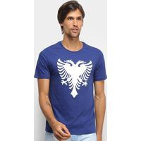 Camiseta Cavalera Águia Masculina - Masculino-Azul Escuro