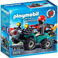 Playmobil - City Action - Mini Figura Ladrão E Veículo - 6879 - Sunny