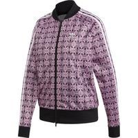 Jaqueta Adidas Aop Originals Roxo - Roxo - Feminino - Dafiti