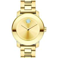 Relógio Movado Feminino Aço Dourado - 3600104
