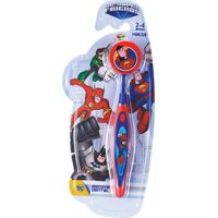Escova Dental Infantil Art Brink- Super Friends Dc Super Man
