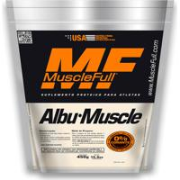 Albumina Albu-Muscle 450Gr - Musclefull - Sabor Pêssego
