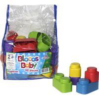 Brinquedo Blocos De Montar Baby Ciabrink Colorido