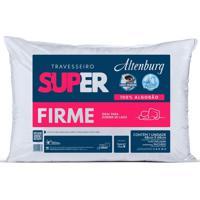 Travesseiro Altenburg Super Firme 100% Algodão - Branco Branco