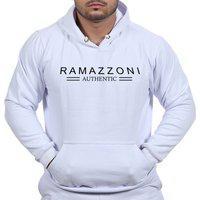 Moletom Blusa De Frio Ramazzoni Authentic Marca Famosa Branco