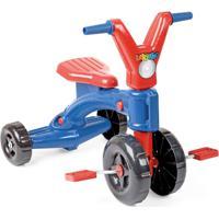 Triciclo Xplast Lekinho Vintage - Pvc - Colorido - 4241 - Azul