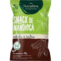 Biscoito Salgado De Mandioca Cebola E Salsa - Nutripleno - 30G