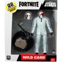 Boneco Fun Fortnite Wild Card Red Suite C/ Acessórios - Unissex-Branco