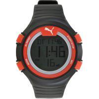 Relógio Digital Puma Masculino - 96266M0Pvnp4 Preto