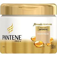 Máscara Pantene Fortalecedora Hidratação Intensa- 300 Ml - Unissex-Incolor
