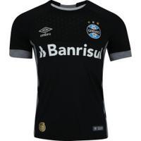 Camisa De Goleiro Do Grêmio I 2018 Umbro - Masculina - Preto