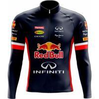 Camisa Scape Red Bull Ml Masculina - Masculino