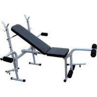 Banco De Supino Wct Fitness 365 Estação De Musculação Aparelho Ginastica Preto