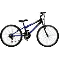 Bicicleta Master Bike Aro 24 Masculina Ciclone Plus Azul