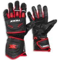 Luva De Motocross Iron Touch Finger Vermelha Texx