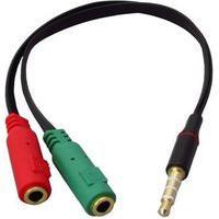 Cabo Adaptador Md9 Com Plug, 2Xp2, Áudio E Fone, Para Notebook - 8013