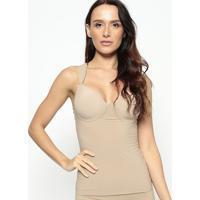Blusa Modeladora Lisa- Bege- Hopehope