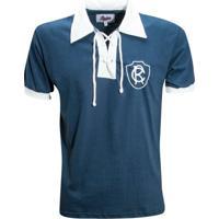 Camisa Liga Retrô Remo 1930 - Masculino-Marinho