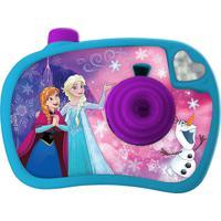 Câmera Fotográfica Disney Frozen Etitoys Personagens E Cores Sortidas