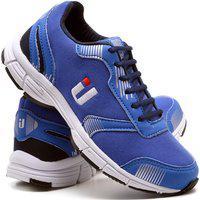 Tênis Masculino Ousy Shoes Training Academia Ultraleve Azul