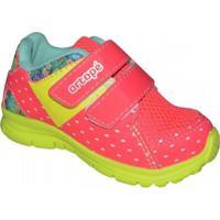 Tênis Ortope New Jogging Infantil - Feminino-Rosa