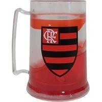Caneca Gel Flamengo Acima De Tudo Rubro Negro 300 Ml - Masculino-Vermelho